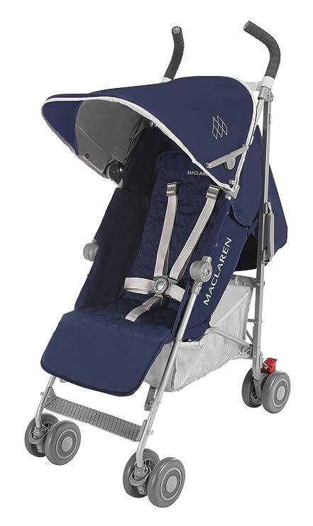 Maclaren Quest Stroller, Medieval Blue/Silver by Maclaren