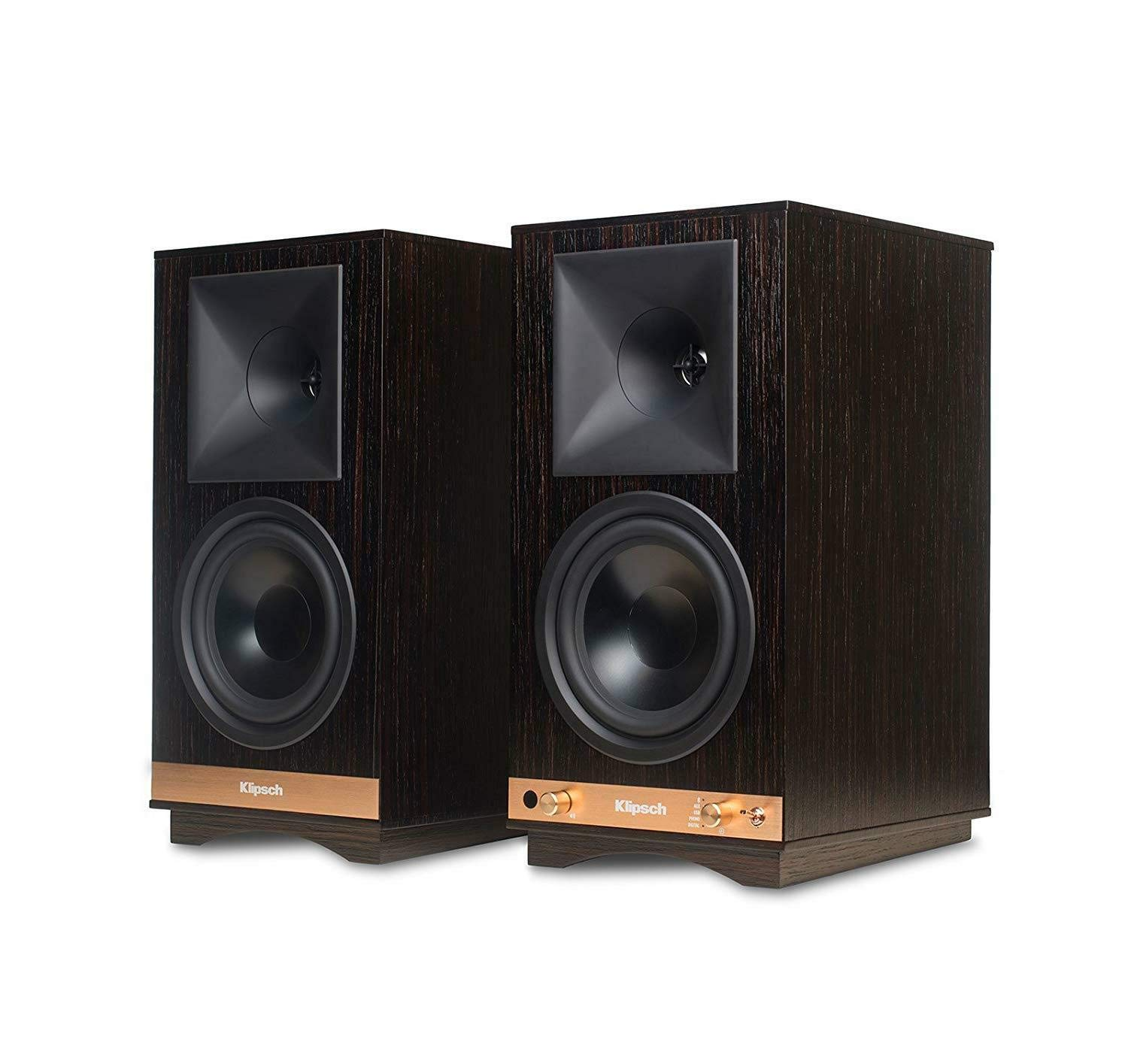 Klipsch The Sixes Powered Monitor – Ebony (Pair)