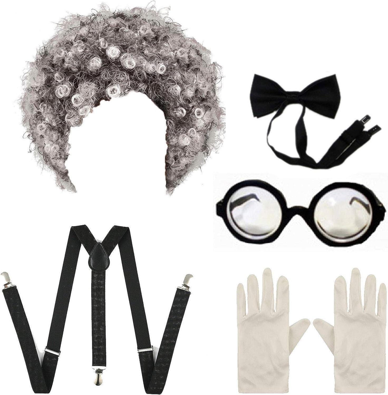 Angies Fashion LTD Kit de disfraz de científico para niños y niñas ...