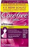 Carefree Plus - Salvaslips ultra fresh (20 unidades)