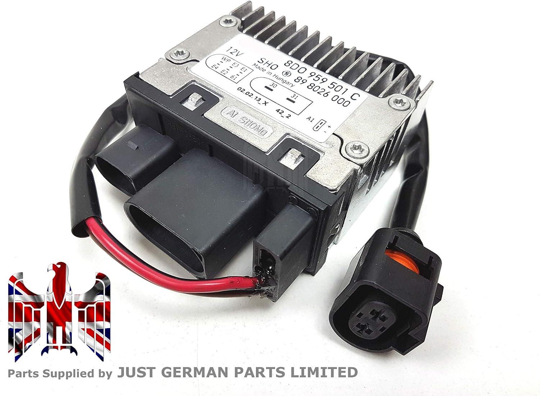 Nuevo frente Radiador de refrigeración ventilador unidad de control memoria 8d0959501C (1998–1999)