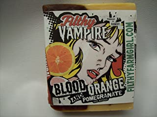 product image for Filthy Vampire Blood Orange BAR SOAP Orange Pomegranate Turmeric
