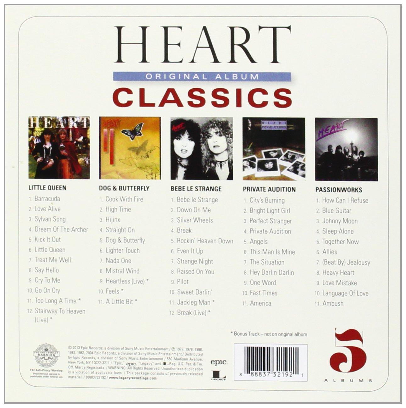 Heart - Original Album Classics - Amazon.com Music