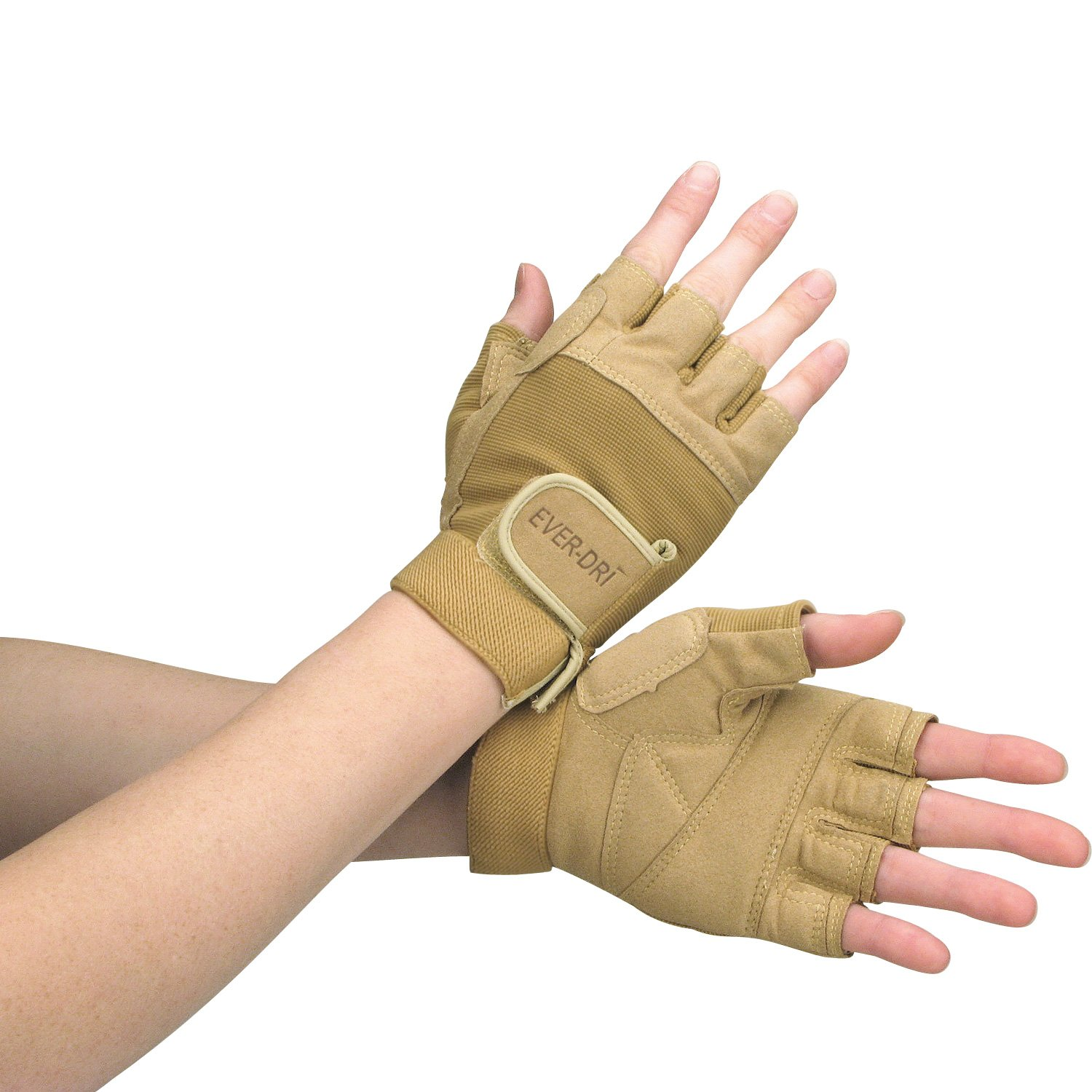 Director's Showcase EVER-DRI Color Guard Gloves (Tan, X-Large)