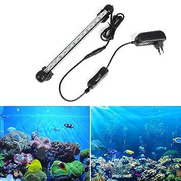Lámpara LED para acuario GreenSun LED Lighting, de acrílico, decoración para acuario de peces: Amazon.es: Bricolaje y herramientas