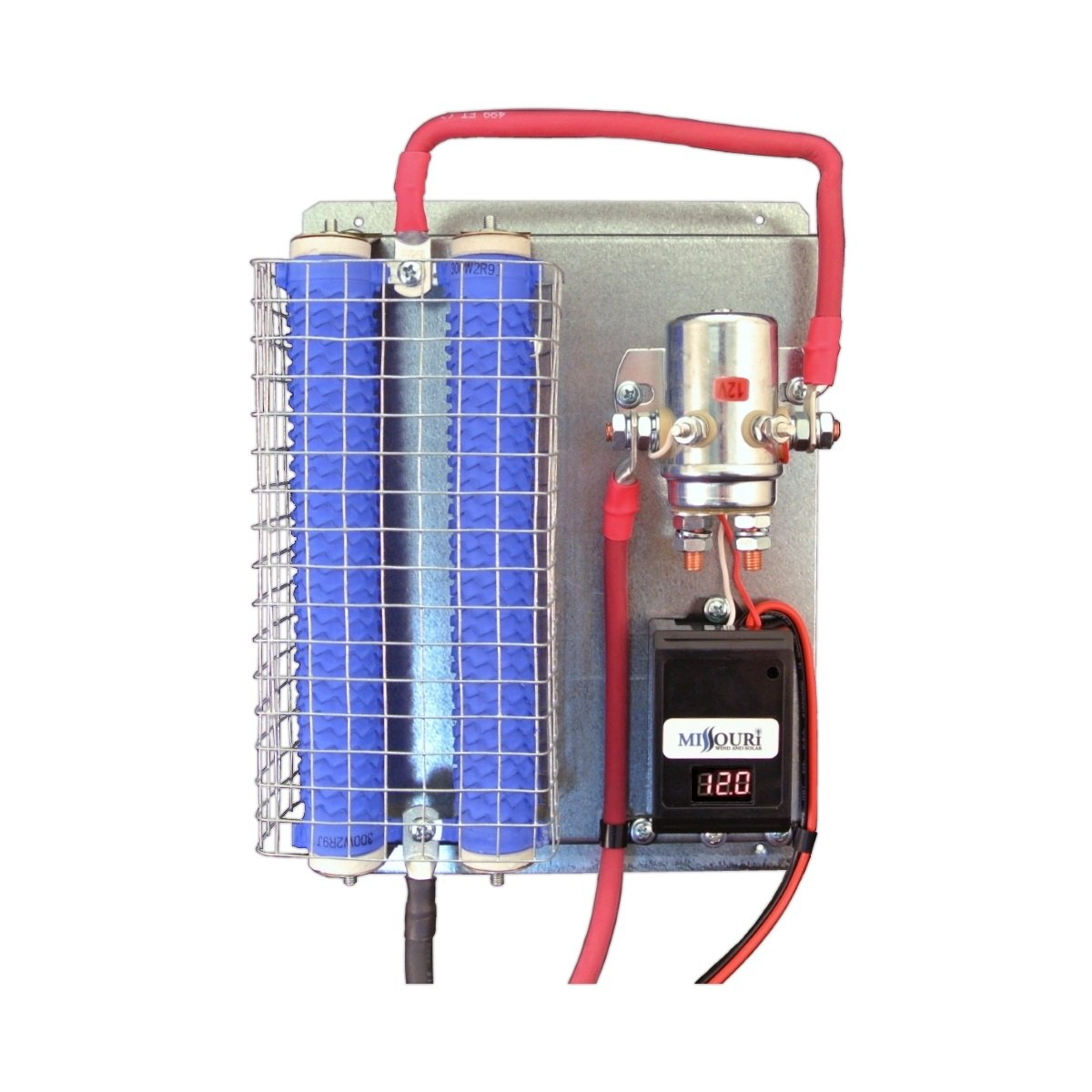12 Volt Wind and Solar Charge Controller w LED Display 600 Watt Divert Load