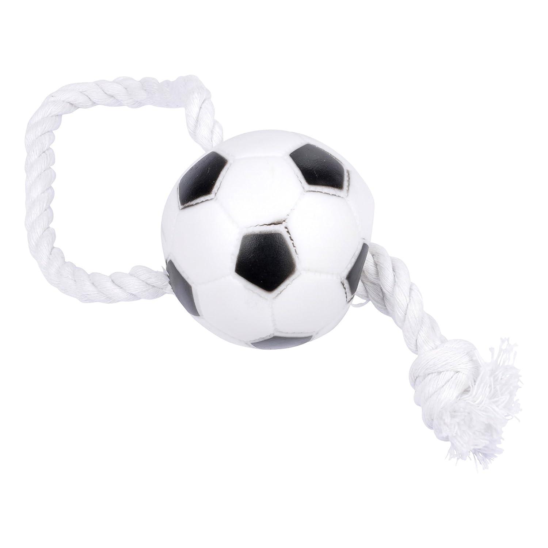 CODICO Jouet Balle de Foot avec Corde pour Chien