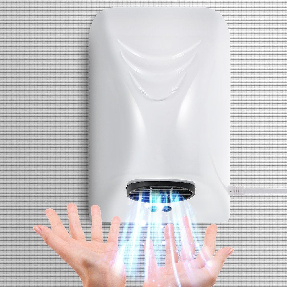 PADY Automatic Induction Bathroom Hand Dryer Household Hotel Commercial Infared Sensor Hands Drying Device