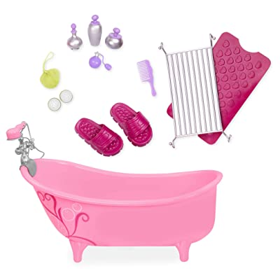 """Our Generation by Battat- Owl Be Relaxing Bathtub Set For 18"""" Dolls- Toys, Playsets & Accessories For Ages 3 years & Up: Toys & Games"""