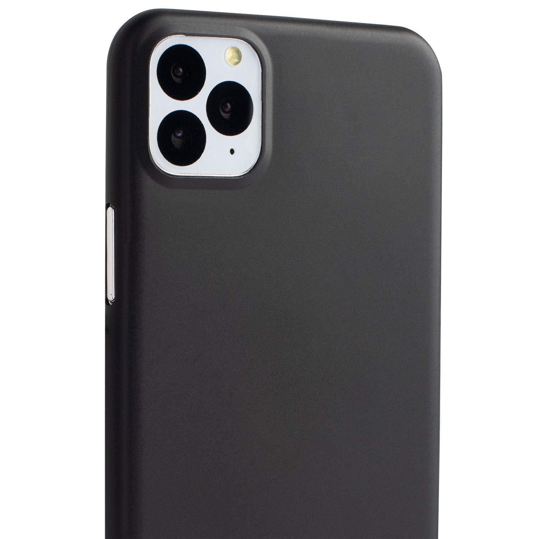 COVER CUSTODIA IPHONE 11 PRO MAX nera TPU ultra slim silicone nera