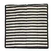 Little Unicorn Outdoor Blanket - Black & White