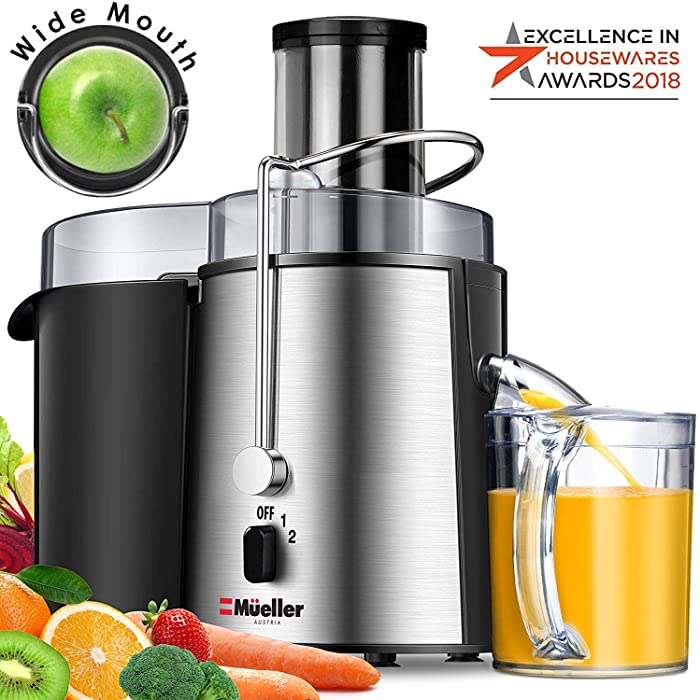 The Best Mueller Juicer Ultra 1100W Power