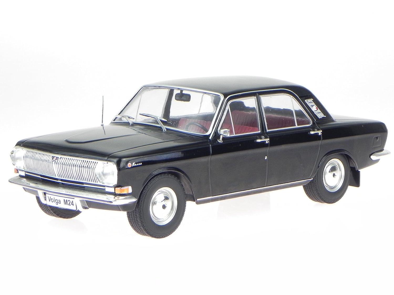 Wolga M24 1967 schwarz Modellauto 18013 MCG 1:18