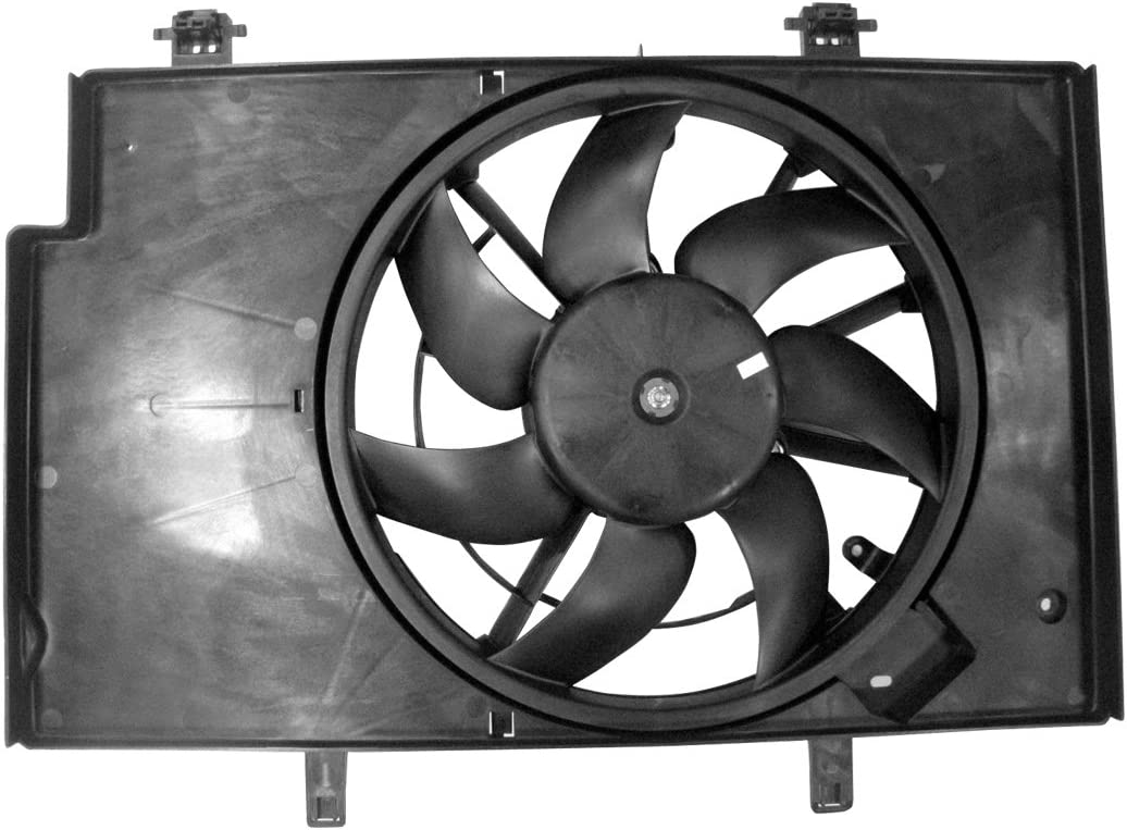 TYC 622500 Replacement Cooling Fan Assembly for Ford Fiesta