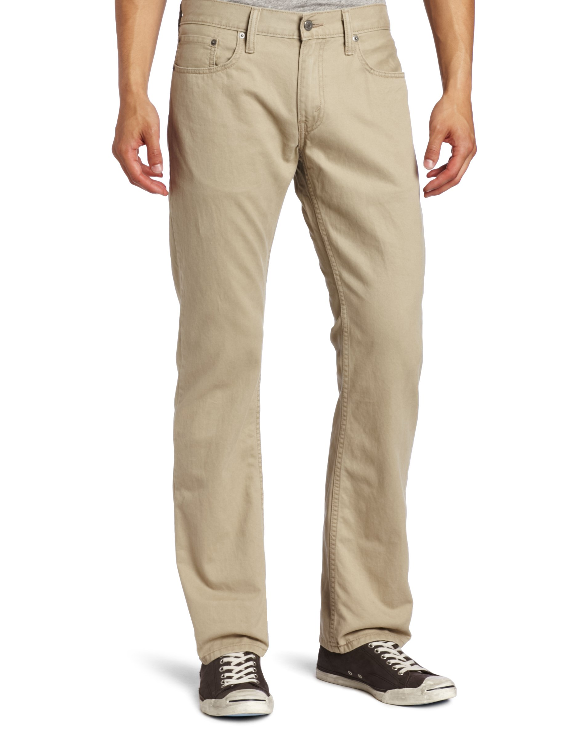 Levi's Men's 514 Straight Leg Twill Pant, Chinchilla, 32x36