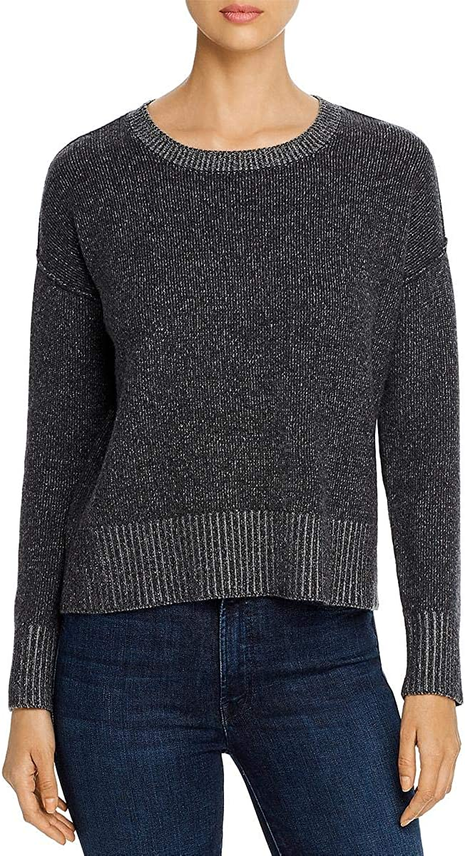 Eileen Fisher Womens Cashmere Blend Max 50% OFF Pullover Ranking TOP7 Round Sweater Neck