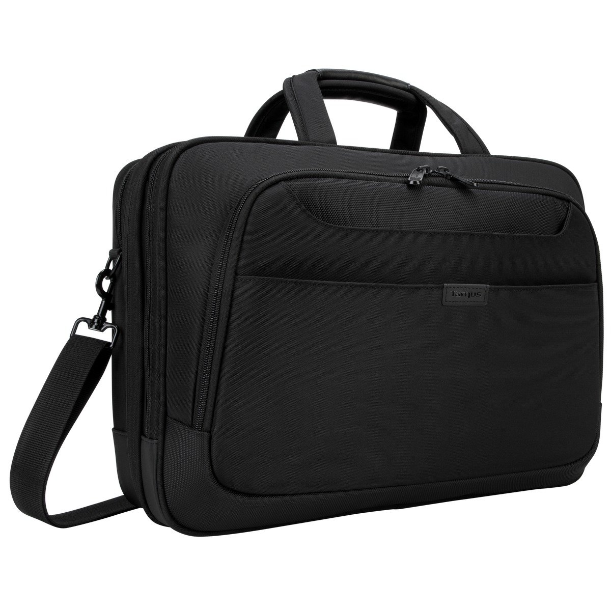 Targus Blacktop Deluxe Checkpoint-Friendly Laptop Bag with DOME Protection for 17-Inch Laptops, Black (TBT275)