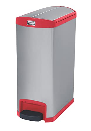 Amazon.com: Contenedor Rubbermaid Commercial Slim Jim, de ...