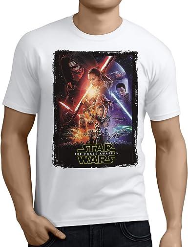 Camiseta Hombre - Unisex Star Wars The Force Awakens, El ...