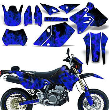 Amazoncom Suzuki DRZ SM E Decal Graphic Kit Dirt Bike Sticker - Decal graphics for dirt bikes