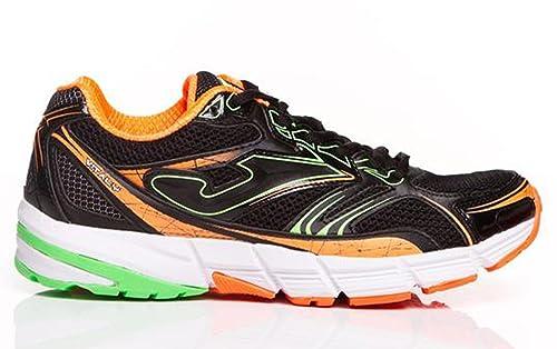 Joma - Zapatillas running Joma hombre - RVITALY 601 GREY-FLUOR RS.VITAS-611 - W14306 - 46: Amazon.es: Zapatos y complementos
