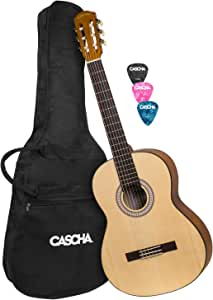 CASCHA Student Series 4/4 guitarra clásica: Amazon.es ...