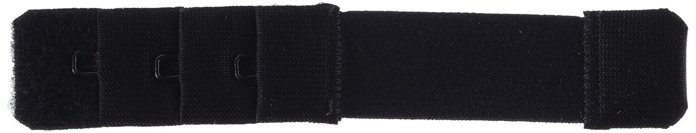 Kleiber 20 mm Single Hook Bra Extender, Black 801-16