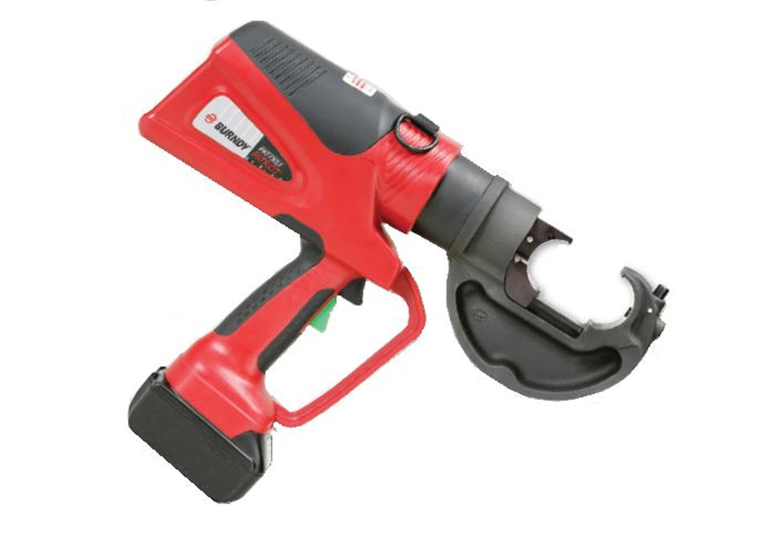 Burndy PAT750-LI Patriot Hydraulic Self-Contained 12-Ton Lithium-Ion Crimp Tool
