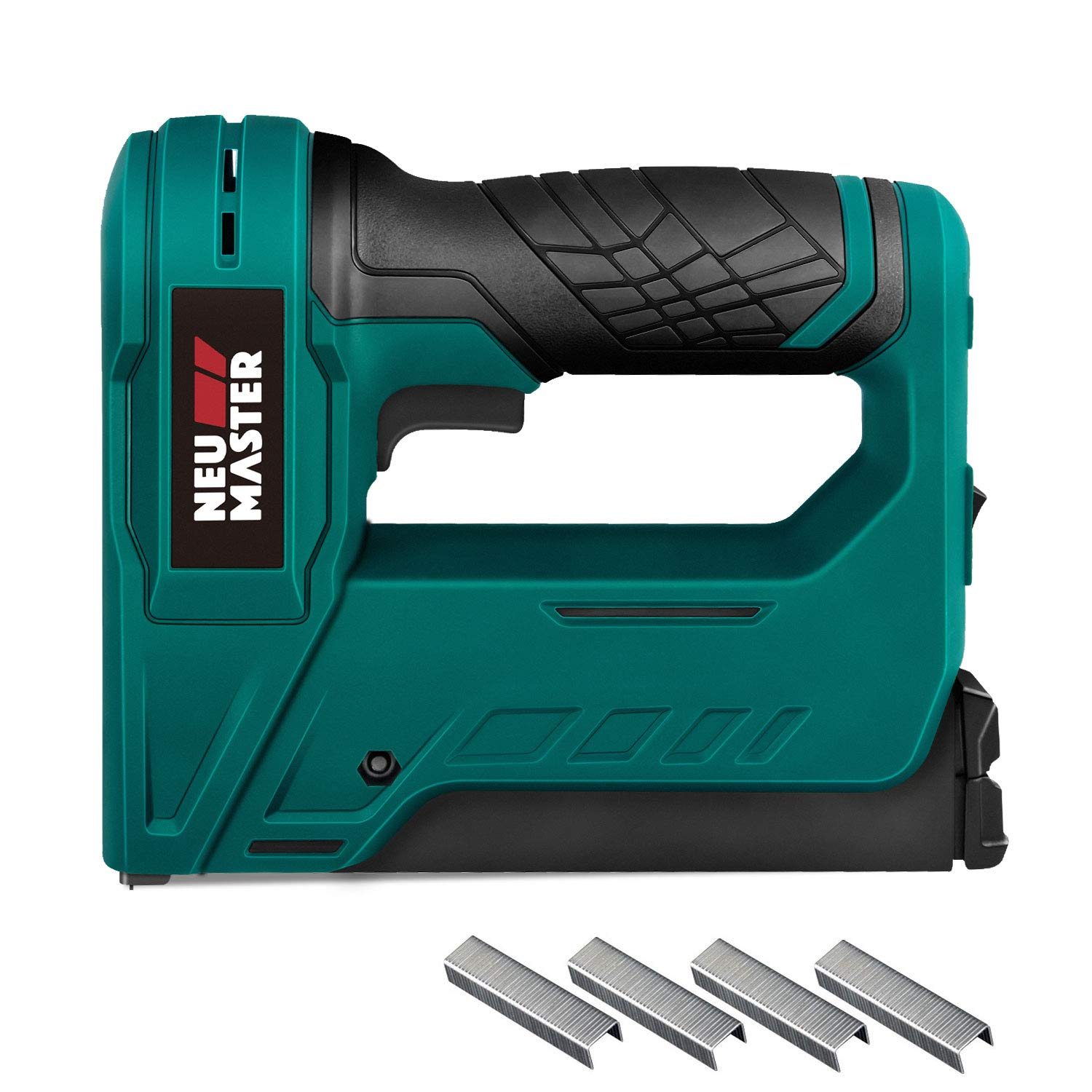 Cordless Staple Gun, NEU MASTER NTC0070 3.6V Li-ion Battery Staple Gun for DIY Small Project of Upholstery, Home Improvement and Woodworking, Including charger and staples by Neu Master