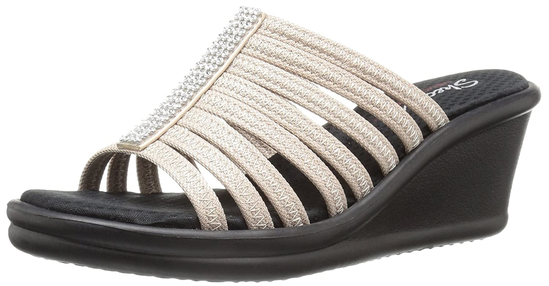 Skechers Cali Woherren Rumblers Hot Shot Wedge Sandal
