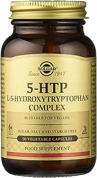 Solgar 5-HTP, Mejora del Equilibrio Emocional y Reducción de la Fatiga, 90 Cápsulas: Amazon.es: Salud y cuidado personal