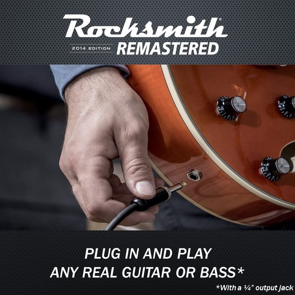 Rocksmith 2014 Edition Remastered Playstation 4 Wiring A 1 Out Put Jack Standard Video Games