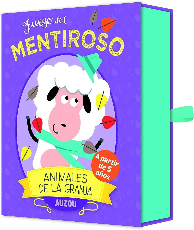 Auzou 85781 - Juego del Mentiroso: Animales de la Granja: AA.VV ...
