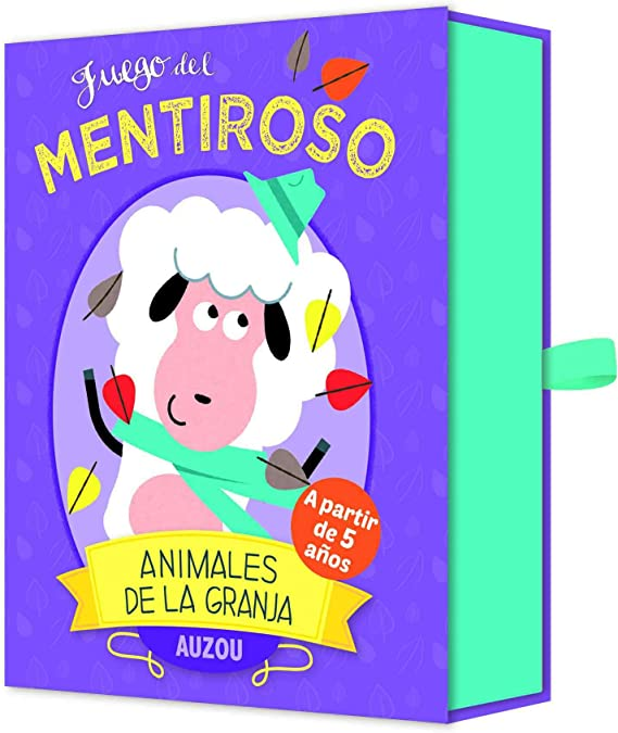 Auzou 85781 - Juego del Mentiroso: Animales de la Granja: Amazon.es: Juguetes y juegos