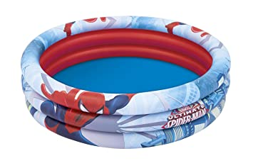 Piscina Hinchable Infantil Bestway Spiderman 122 cm