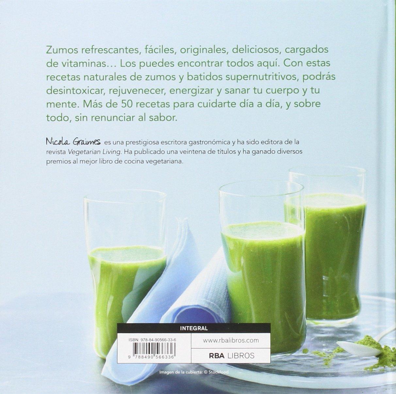 ZUMOS VERDES- RECETAS SANAS Y FACILES: Nicola Graimes: 9788490566336: Amazon.com: Books