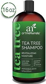 ArtNaturals Tea Tree Shampoo - (16 Fl Oz / 473ml) -