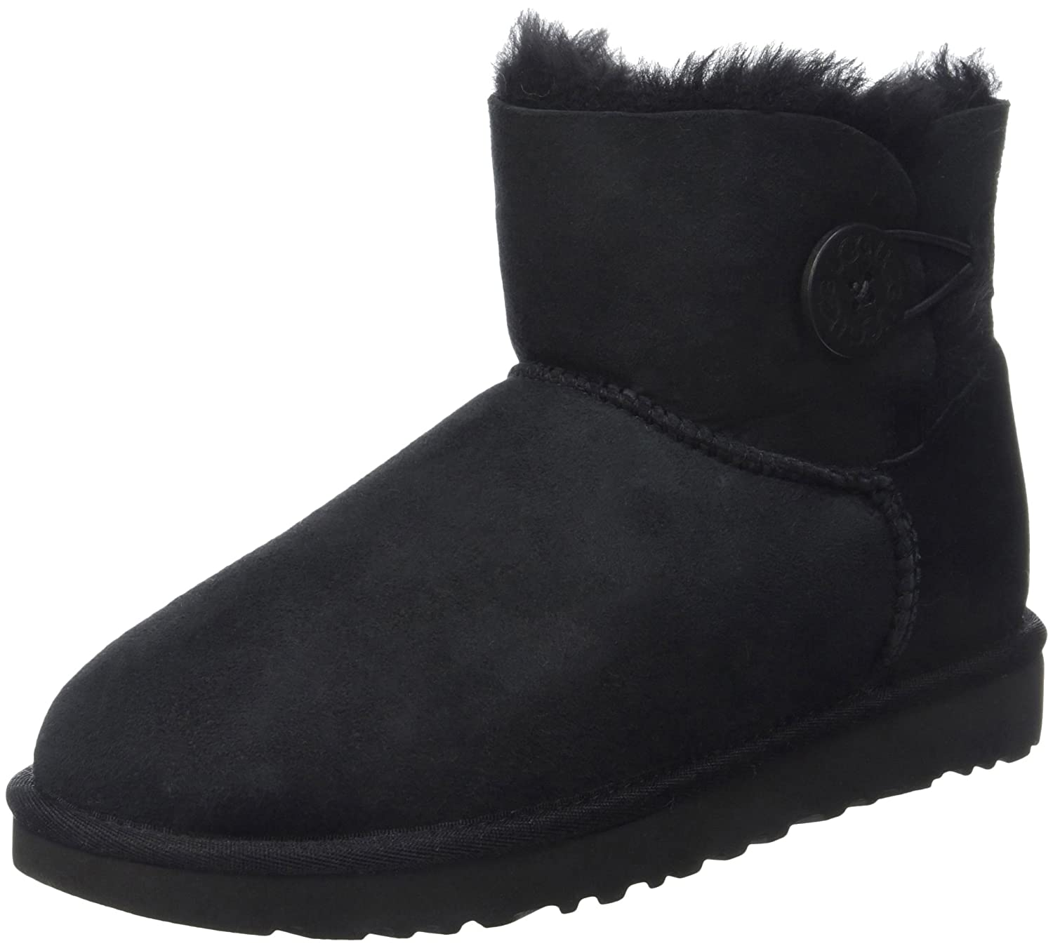 f14f361ccc9 UGG Australia Women's Mini Bailey Button Short Boots