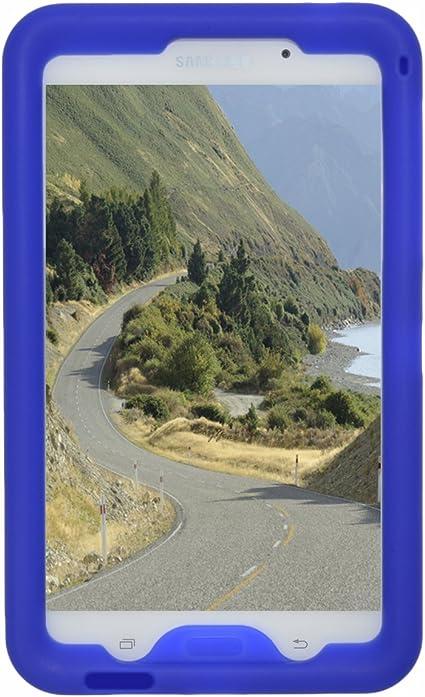 Bobjgear Carcasa Resistente Para Tablet Samsung Galaxy Tab 4 7 Pulgadas Modelos Wi Fi Sm T230 3g Sm T231 4g Sm T235 Y Otros Modelos Sm T23 Tab 4 Nook 7 Funda Protectora Azul Amazon Es