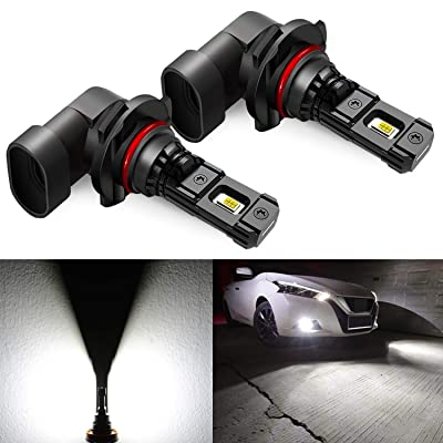 JDM ASTAR High Performance Bright White 1:1 Design H10 9145 9140 9050 9155 LED Fog Light Bulbs: Automotive