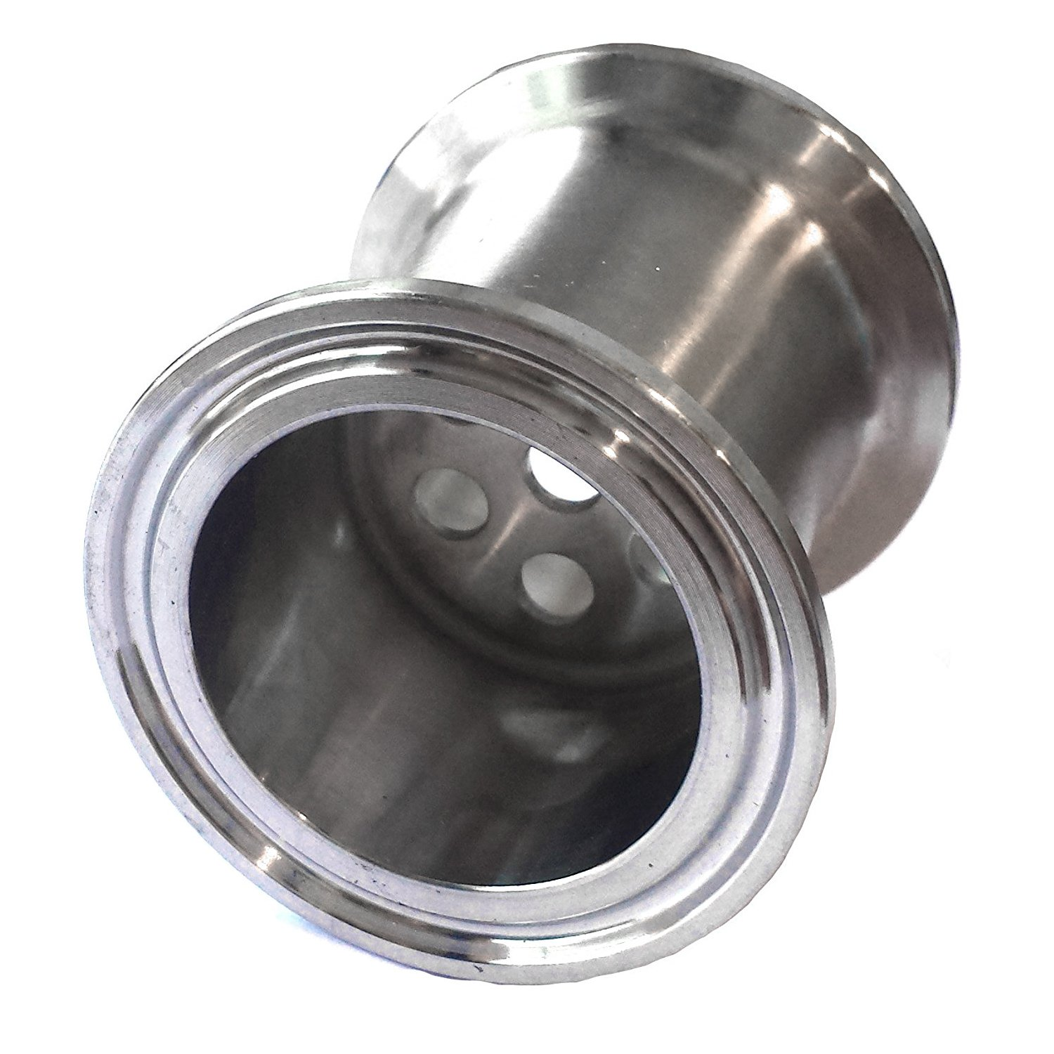 HFS (R) 1.5' Stainless Sanitary Filter Plate fits Tri-Clamp Ferrule Flange with 6mm holes