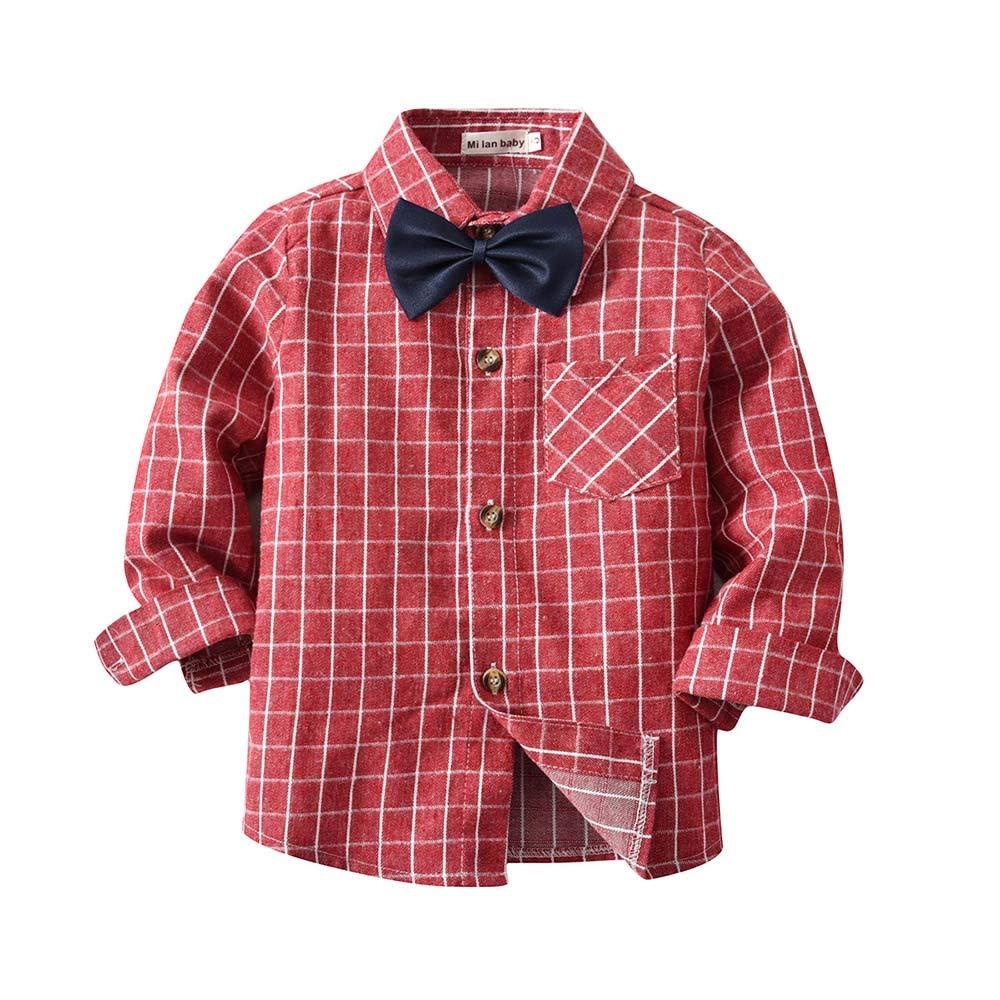 Amazon Gentleman Boys Shirt Ankola Baby Toddler Boys Button