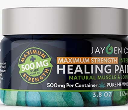 hemp oil pain relief cream