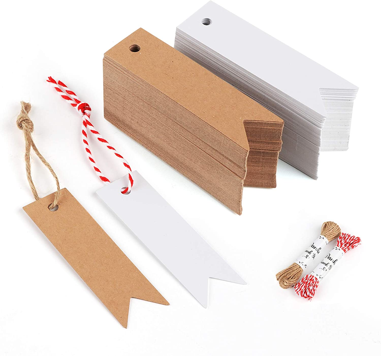 4 mtr 18 Geschenkanhänger inkl Bändchen ~ 3 Designs
