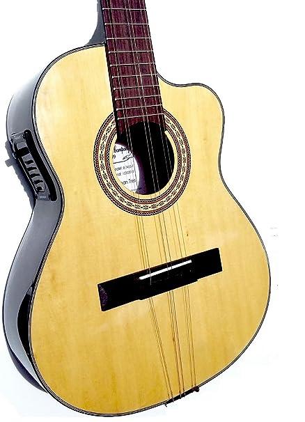 Amazon Com Tres Cubano Acoustic Electric Cuban Tres Tres Cubano