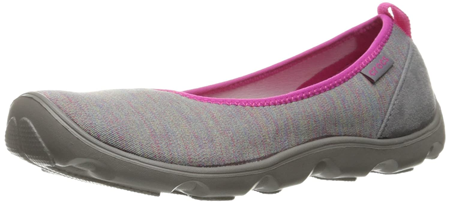 Crocs Women's Duet Busy Day Heather Multi Flat