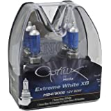 Optilux Hella H71070367 XB Series HB1 HB4 9006 Xenon White Halogen Bulbs, 12V, 80W, 2 Pack
