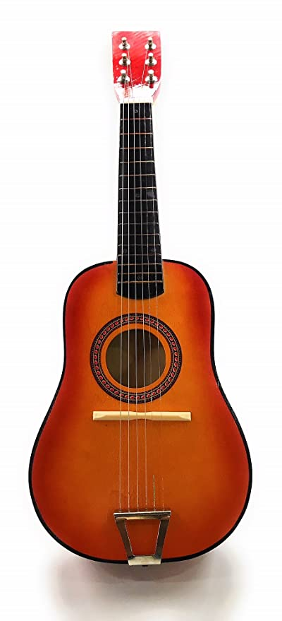 ec503a85a4 O.B Toys&Gift Kids 6 String Wooden Acoustic Ukulele Toy Classic Guitar  Musical Instrument Toy w/