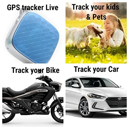 Secumore GPS Tracker with SOS Satellite Tracking (Blue)