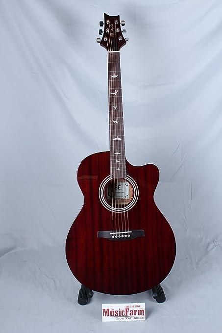 PRS a10eto se Angelus A10E guitarra eléctrica, diseño de caparazón ...